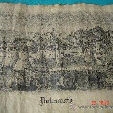Arte: MAPA PERGAMINO DE DUBROVNIK, EN . DIMENSIONES.- 34X24,250 CMS.. Lote 26421320