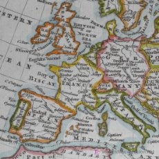 Arte: MAPA DE EUROPA DE KITCHIN, 1772. Lote 12343706