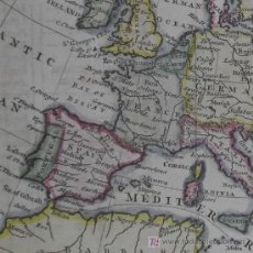 Arte: MAPA DE EUROPA DE JEFFERYS, 1756. Lote 18575280