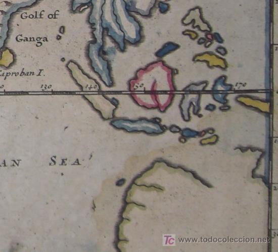 Arte: Mapa del Mundo Antiguo de Moll, 1753 - Foto 9 - 18575864