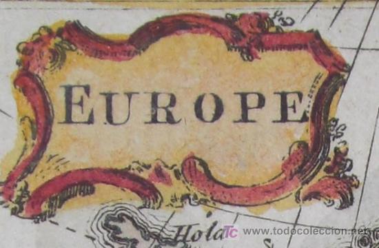 Arte: Mapa de Europa de Gibson, 1759 - Foto 4 - 18576012