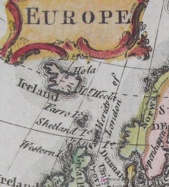 Arte: Mapa de Europa de Gibson, 1759 - Foto 5 - 18576012