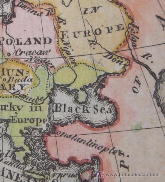 Arte: Mapa de Europa de Gibson, 1759 - Foto 8 - 18576012