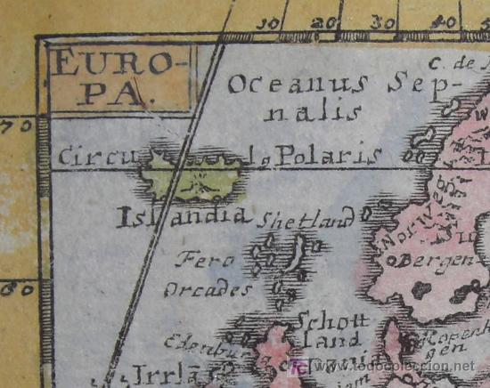 Arte: Mapa de Europa de Mueller, 1692 - Foto 4 - 18576912
