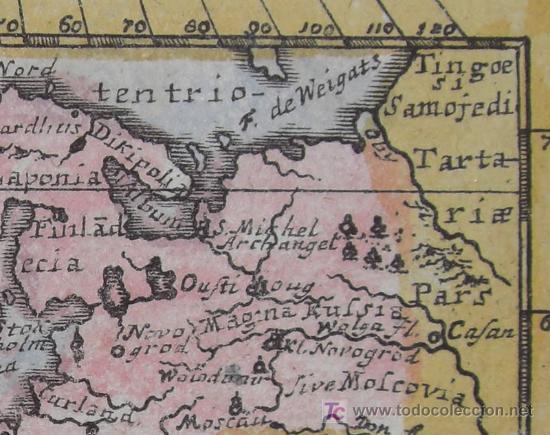 Arte: Mapa de Europa de Mueller, 1692 - Foto 5 - 18576912