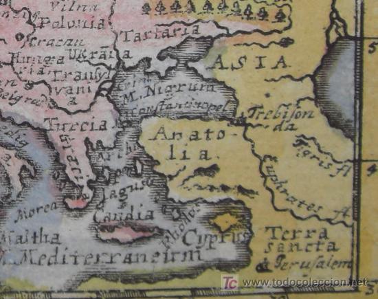 Arte: Mapa de Europa de Mueller, 1692 - Foto 7 - 18576912
