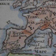 Arte: MAPA DE EUROPA DE WELSS, 1726. Lote 20489859