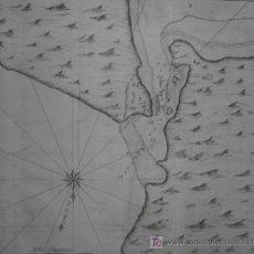 Arte: MAPA DEL PUERTO DE SAN JULIÁN (ARGENTINA) DE ANSON, 1751. Lote 20489885