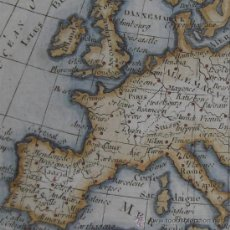 Arte: MAPA DE EUROPA DE VAUGONDY, 1760. Lote 21844372