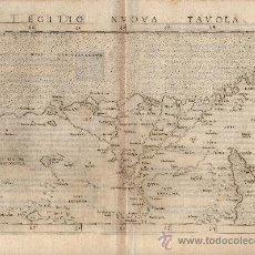 Arte: MAPA ANTIGUO SIGLO XVI EGIPTO [RUSCELLI 1561]. Lote 24118259