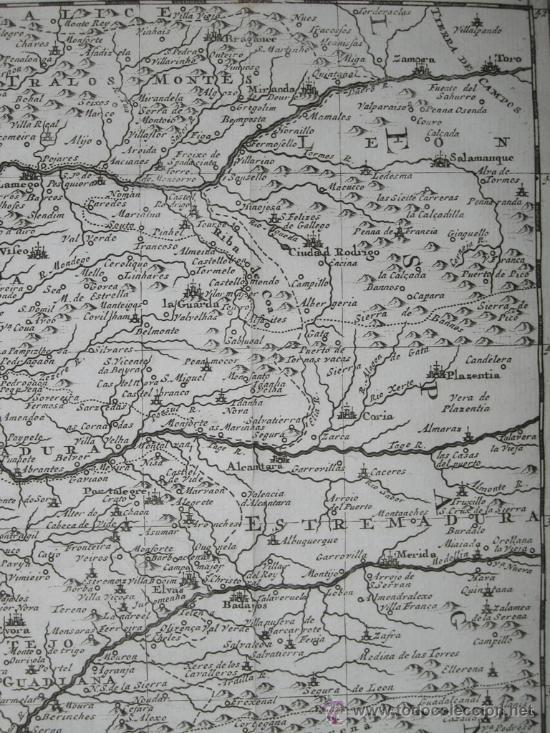 Arte: Mapa de Portugal de Pieter Van der Aa, 1729 - Foto 6 - 24398348
