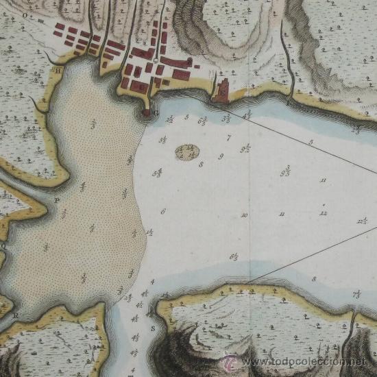 MAPA DE LA BAHÍA DE PORTOBELO (PANAMÁ) DE BELLIN, 1757 (Arte - Cartografía Antigua (hasta S. XIX))
