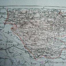 Arte: 1797-MAPA BURGOS.ORIGINAL DE LÓPEZ.BURGOS, NÁJERA,SANTO DOMINGO DE LA CALZADA, BURENA, CIDONCHA. Lote 26361971