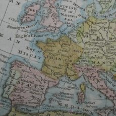 Arte: MAPA DE EUROPA, KITCHIN, 1782. Lote 28430126