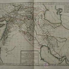 Arte: CARTE DE LA CAPPADOCE, ARMÉNIE, MÉDIE, PERSE, , MÉSOPOTAMIE, SYRIE ET JUDÉE. . Lote 29257471