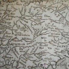 Arte: 1598-MAPA DE ESPAÑA. HISPANIA. ABRAHAM ORTELIUS. ORIGINAL.SE PUEDE PAGAR A PLAZOS. Lote 117525326