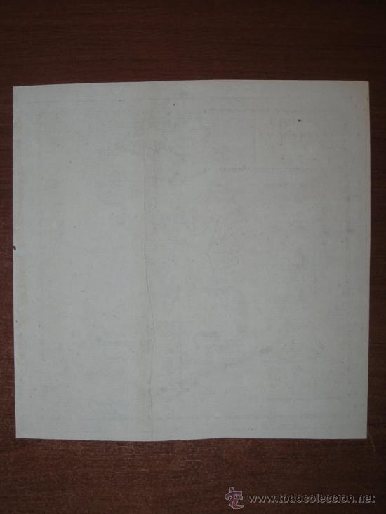 Arte: Mapa de Norteamérica, Vaugondy, 1782 - Foto 7 - 29650974