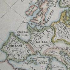 Arte: MAPA DE EUROPA EN LA ANTIGÜEDAD DE CLUVER, 1661. Lote 78929834