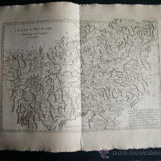 Arte: 1787-MAPA AUSTRIA.ÖSTERREICH.VIENA.HALL.SALZBURGO.BREGENZ.WELS.INNSBRUCH.GRAZ.DORNBIRN.REGAU.BONNE. Lote 29891376