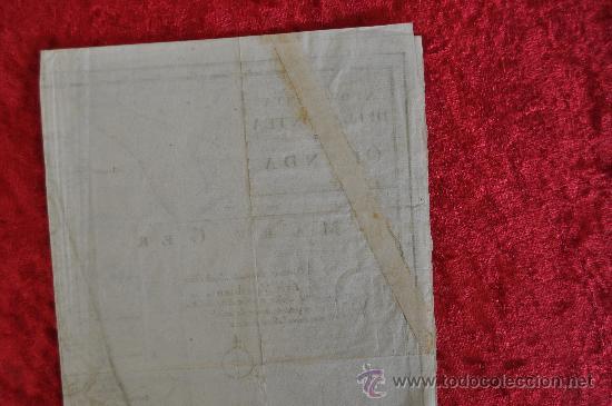 Arte: Antiguo mapa grabado de s.XVIII. Nuova carta della contea di Olanda. Holanda. original. - Foto 6 - 30013634