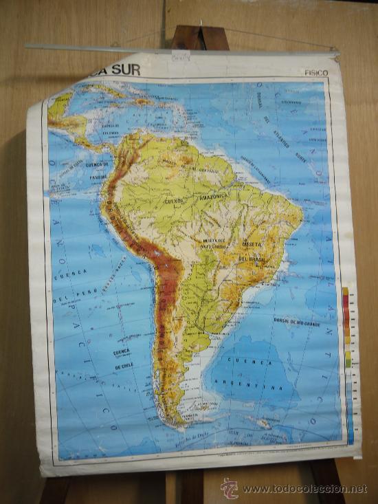 mapa america del sur  Comprar Cartografa Antigua hasta S XIX