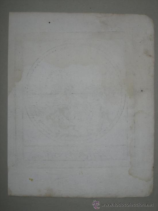 Arte: Mapa del hemisferio este, Bodenehr, 1704 - Foto 5 - 32512669