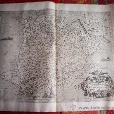 Arte: 1578-MAPA DE ESPAÑA. GERARDUS MERCATOR. ORIGINAL Y EXCLUSIVO. Lote 32791887