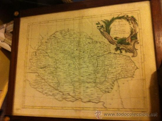MAPA HUNGRIA DE ANTONIO ZATTA, SIGLO XVIII (Arte - Cartografía Antigua (hasta S. XIX))