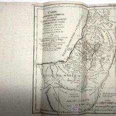 Arte: MAPA ANTIGUO SIGLO XVIII (1749). CARTE DU ROYAUME D'HERODE: LA JUDEE, LA SAMARIE.... Lote 34543373