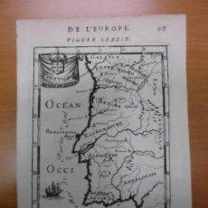 Arte: MAPA DE ESPAÑA Y PORTUGAL, 1683, MALLET. Lote 35664689