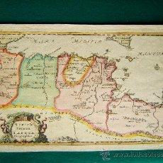 Arte: AFRICAE VETERIS TABULA GEOGRAPHICA - NICOLAS SANSON - MAPA 23X35 CM. - AÑOS 1661/ 1715 ? . Lote 36019876