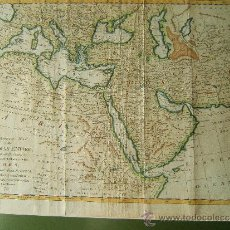 Arte: A CORRECT MAP OF THE OTTOMAN EMPIRE INCLUDING ALL THE COUNTRIES,…- THOMAS BOWEN - MAPA - AÑO 1777.. Lote 207794242