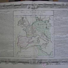 Arte: AÑO 1761. ENORME MAPA IMPERIO ROMANO. ESPAÑA, FRANCIA, ÁFRICA. BUY DE MORNAS. 56 X 42 C. Lote 36234835