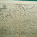 Arte: A NEW MAP OF ANTIENT GERMANY,… -MAPA EDWARD WELLS -GRABADOR R. SPOFFORTH-44X56 CM. AÑOS 1700/1712 ?.. Lote 36472540