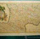 Arte: LA FRANCE DIVISEE PAR GOUVERNEMENTS MILITAIRES - MAPA DE RIZZI ZANNONI - 37X53 CM. - 1760/1782 ?. . Lote 36488722