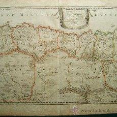 Arte: PARTIE DE LA BARBARIE OU EST LE ROYAUME D'ALGER…- MAPA NICOLAS SANSON - 46X60 CM - AÑO 1679. . Lote 36515092