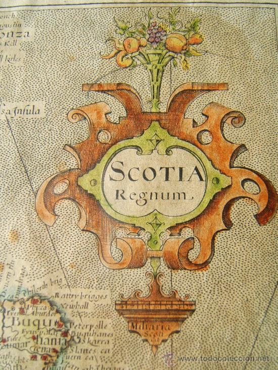 scotia regnum - (escocia) - mapa de william hol - Comprar