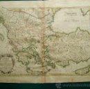 Arte: TURQUIE D'EUROPE ET PARTIE DE... -MAPA DE JEAN JANVIER - RIGOBERT BONNE - PARIS - 37X49 CM -1771?.. Lote 36524160