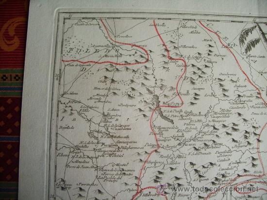 Arte: 1795-MAPA.BARRAX.MUNERA.CHINCHILLA.VILLARROBLEDO.ALCARAZ.SILES.RIOPAR.PEÑAS.ELCHE.SALOBRE.BONILLO - Foto 2 - 36551591