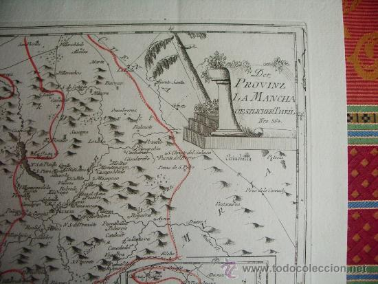 Arte: 1795-MAPA.BARRAX.MUNERA.CHINCHILLA.VILLARROBLEDO.ALCARAZ.SILES.RIOPAR.PEÑAS.ELCHE.SALOBRE.BONILLO - Foto 3 - 36551591