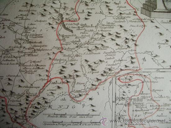 Arte: 1795-MAPA.BARRAX.MUNERA.CHINCHILLA.VILLARROBLEDO.ALCARAZ.SILES.RIOPAR.PEÑAS.ELCHE.SALOBRE.BONILLO - Foto 6 - 36551591