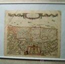 Arte: TERRA SANCTA-PALESTINA-TIERRA SANTA-ISRAEL-JERUSALEN-MAPA FREDERICUM DE WIT-51X61 CM-1670/1680?. Lote 36561685
