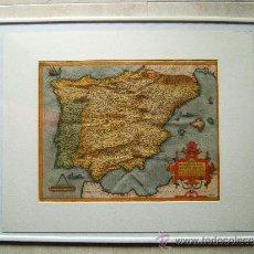 Arte - REGNI HISPANIAE REINO DE ESPAÑA-SPAIN-POST OMNIVM EDITIONES-ABRAHAM ORTELIUS-MAP 41X55-1570/1595? - 36562146