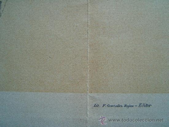 Arte: MAPA ITINERARIO DE CATALUÑA - F.GONZALEZ ROJAS EDITOR - 61X45 CM.- FINALES SIGLO XIX - 1ª EDICION. - Foto 3 - 36997015