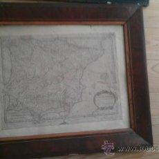 Arte: 1783.HISPANIA ANTIQUAE. TABULA GEOGRAPHICA. MARCO ANTIGUO DE EPOCA. Lote 37744103