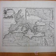 Arte: GRAN MAPA DEL IMPERIO ROMANO, 1690, PHILIPPE BRIET. Lote 37780347