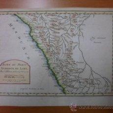 Arte: MAPA DE LIMA (PERÚ), 1773, J. N. BELLIN. Lote 38519152