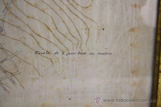 Arte: E4-011. PLANO DEL PUERTO DE SAN FELIU DE GUIXOLS SIGLO XIX ESCALA 1 POR 2000 - Foto 8 - 38809379