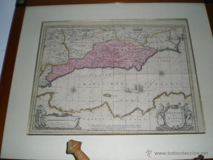 PLATAFORMA REINOS DE GRANADA Y MURCIA PRINCIPIOS S - XVIII (Arte - Cartografía Antigua (hasta S. XIX))