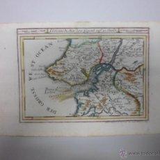Arte: MAPA DE LISBOA (PORTUGAL), 1715, GABRIEL BODENEHR. Lote 40436418